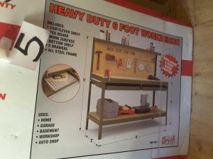 Heavy Duty Workbench | Hudson Tool, Auto, Outdoor Online Auction