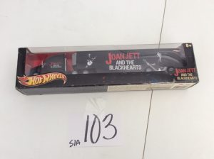 Joan Jett and the Blackhearts Hot Wheels | Des Moines Auction | Store It America