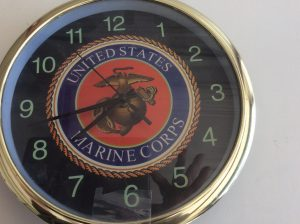 United States Marine Corps Clock | Des Moines Auction | Store It America