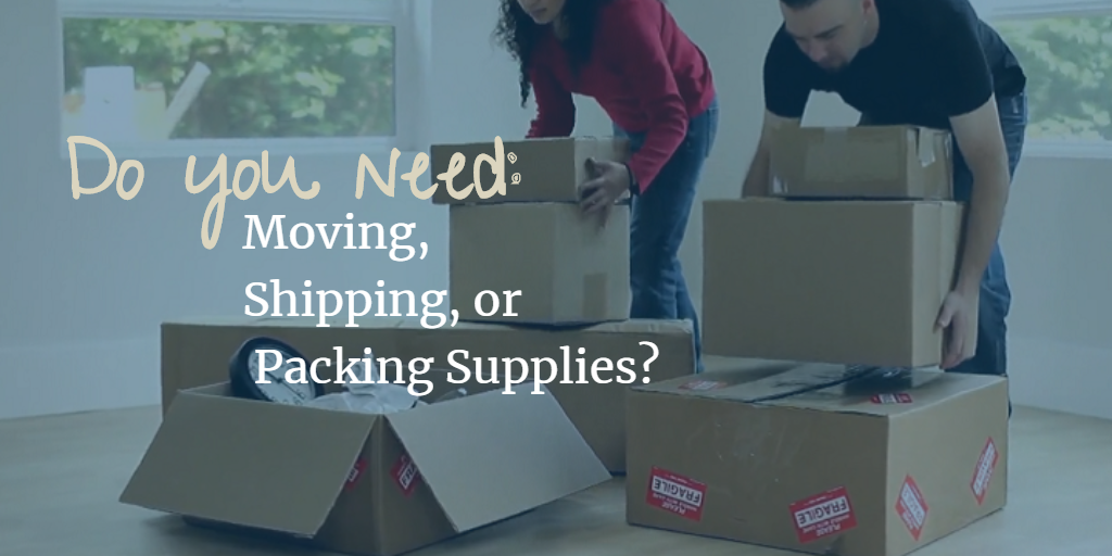 Moving, Shipping, Packing Supplies